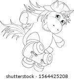 Unicorn. Magical Animal. Vector ...