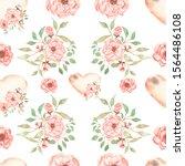 beautiful  seamless  tileable... | Shutterstock . vector #1564486108