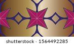 modern stylish texture.... | Shutterstock . vector #1564492285