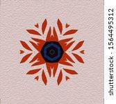 oil painting on canvas handmade.... | Shutterstock . vector #1564495312