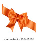 reddish brown bow made from... | Shutterstock . vector #156455555