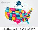 vector illustration colorful... | Shutterstock .eps vector #1564561462