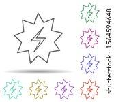 explosive spark multi color...