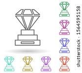 goblet of diamonds multi color...