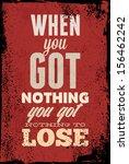 vintage typography vector... | Shutterstock .eps vector #156462242
