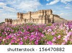 backyard of coca castle ... | Shutterstock . vector #156470882