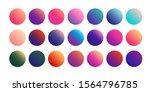 vivid gradient sphere buttons....