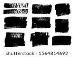 brush strokes. vector... | Shutterstock .eps vector #1564814692