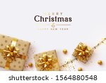 holiday background merry... | Shutterstock .eps vector #1564880548