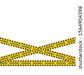 three danger caution seamless... | Shutterstock .eps vector #1564904398