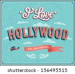 vintage greeting card from... | Shutterstock .eps vector #156495515