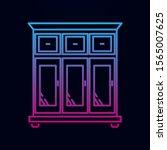wardrobe nolan icon. simple...