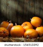 Art Autumn Pumpkin Thanksgivin...