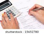 calculation | Shutterstock . vector #15652780