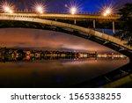 Stockholm, Sweden The Western Bridge or Vasterbron linking Kungsholmen with Sodermalm and built in 1935.