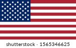 copy flag of the united states... | Shutterstock .eps vector #1565346625
