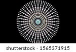 abstract creative mandala... | Shutterstock . vector #1565371915
