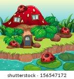 illustration of the bugs... | Shutterstock . vector #156547172