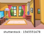 cartoon image of a room for...   Shutterstock .eps vector #1565551678