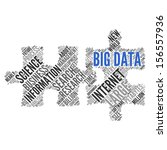 big data   concept wallpaper | Shutterstock . vector #156557936