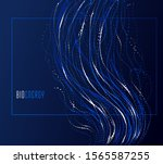 dots particles flowing array... | Shutterstock .eps vector #1565587255
