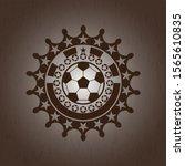 football ball icon inside...