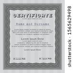 grey certificate or diploma...   Shutterstock .eps vector #1565629498