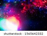 glitter bokeh lighting effect...   Shutterstock . vector #1565642332