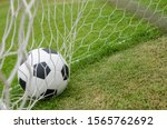 the soccer football with the...   Shutterstock . vector #1565762692