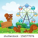 illustration of the three... | Shutterstock . vector #156577076