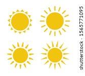 sun icon illustration. sunshine ...