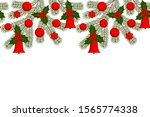 vector seamless christmas... | Shutterstock .eps vector #1565774338