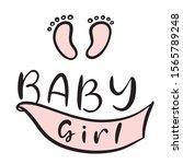 Newborn Girl Celebration. Baby...