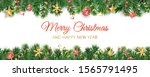 vector christmas decoration... | Shutterstock .eps vector #1565791495