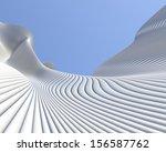 modern architectural design.... | Shutterstock . vector #156587762