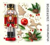 Realistic Christmas Symbols Set....