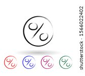 percent sign sketch style multi ...