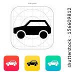 car icon. vector illustration.
