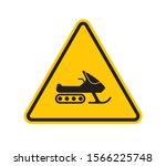 Vector Yellow Triangle Sign  ...