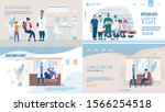 medical company service landing ... | Shutterstock .eps vector #1566254518