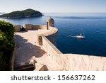 watching spot on dubrovnik's... | Shutterstock . vector #156637262