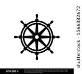 the best ship steering wheel... | Shutterstock .eps vector #1566382672