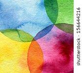 Abstract Watercolor Circle...