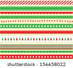 Bright Christmas Ribbon Vector