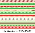 Bright Christmas Ribbon Vector