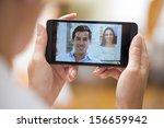 closeup of a female hand...   Shutterstock . vector #156659942