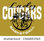 lady cougars basketball team... | Shutterstock .eps vector #1566852565