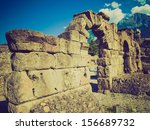 vintage looking ruins of the... | Shutterstock . vector #156689732