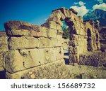 vintage looking ruins of the... | Shutterstock . vector #156689732
