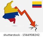 colombia economic crisis... | Shutterstock .eps vector #1566908242